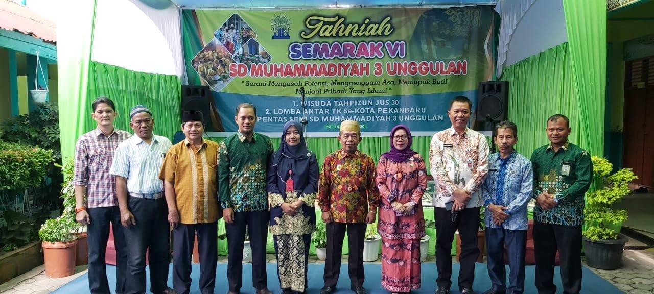 Laksanakan Kegiatan Positif,  Misharti Apresiasi SD Muhammadiyah 3 Pekanbaru