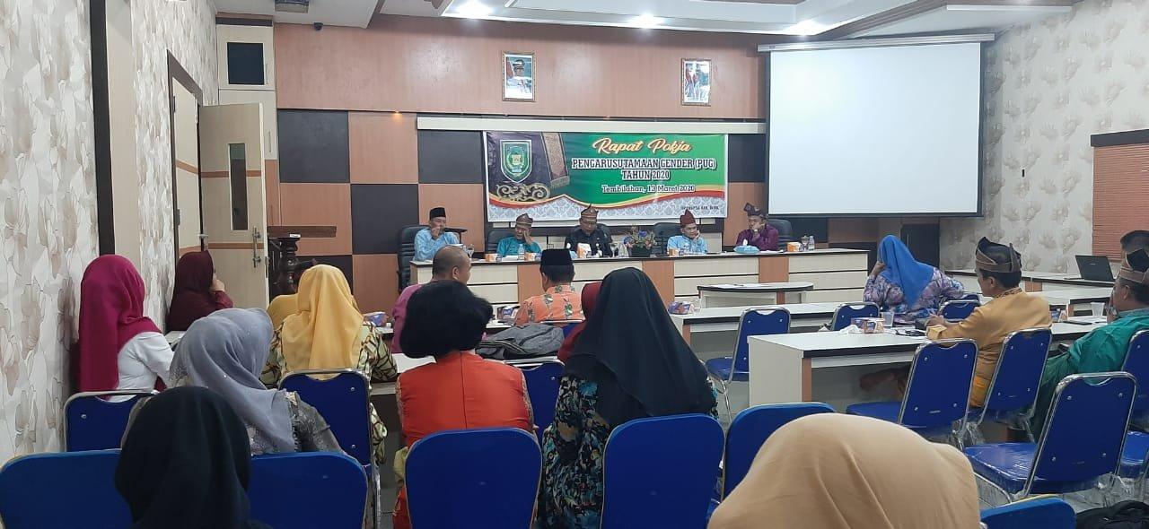 BP2KBP3A Gelar Rapat Pokja Pengarusutamaan Gender PUG Tahun 2020