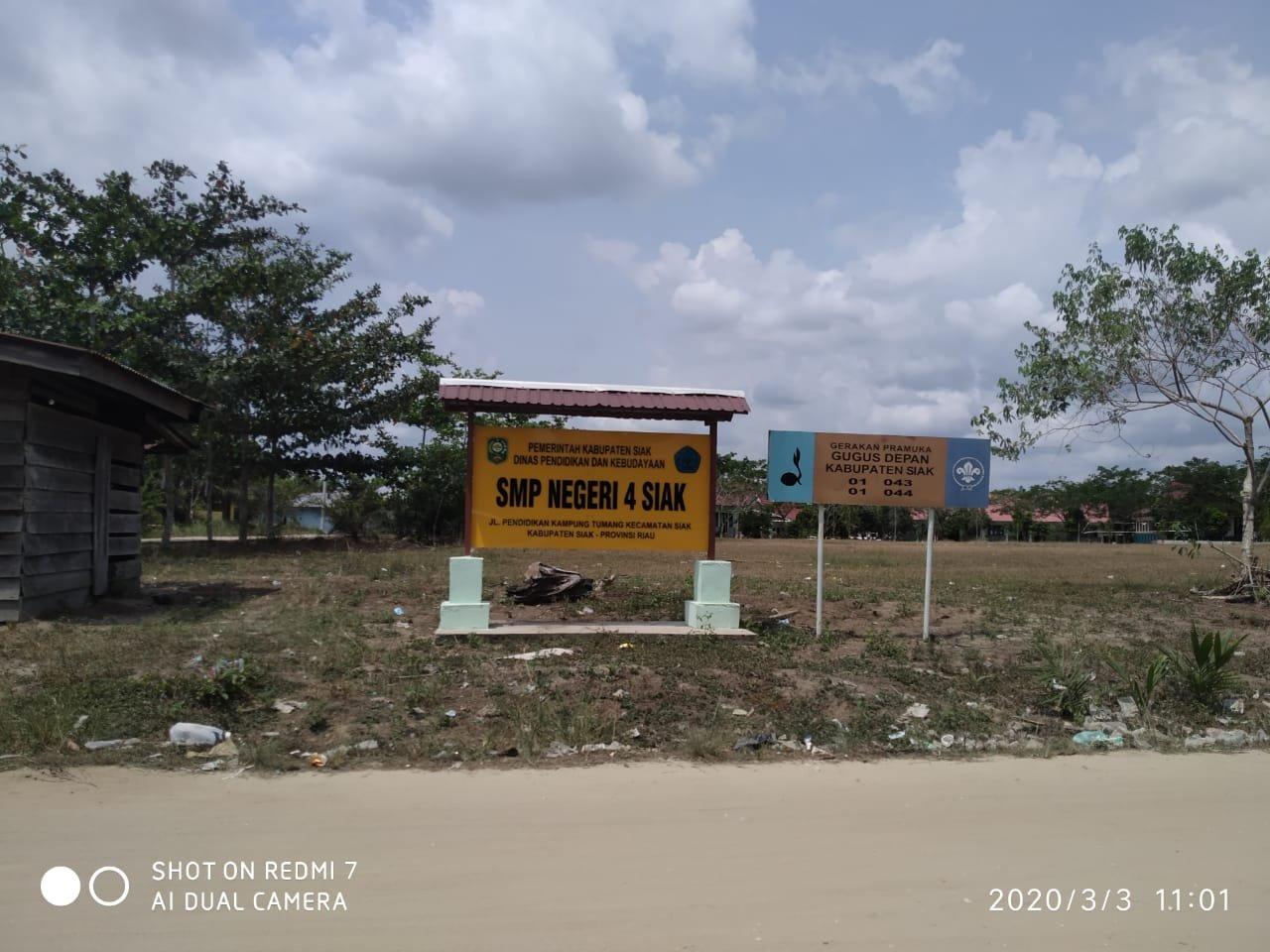Jelang UNBK, SMP Negeri 4 Kecamatan Siak Belum Miliki Ruang Labor Komputer