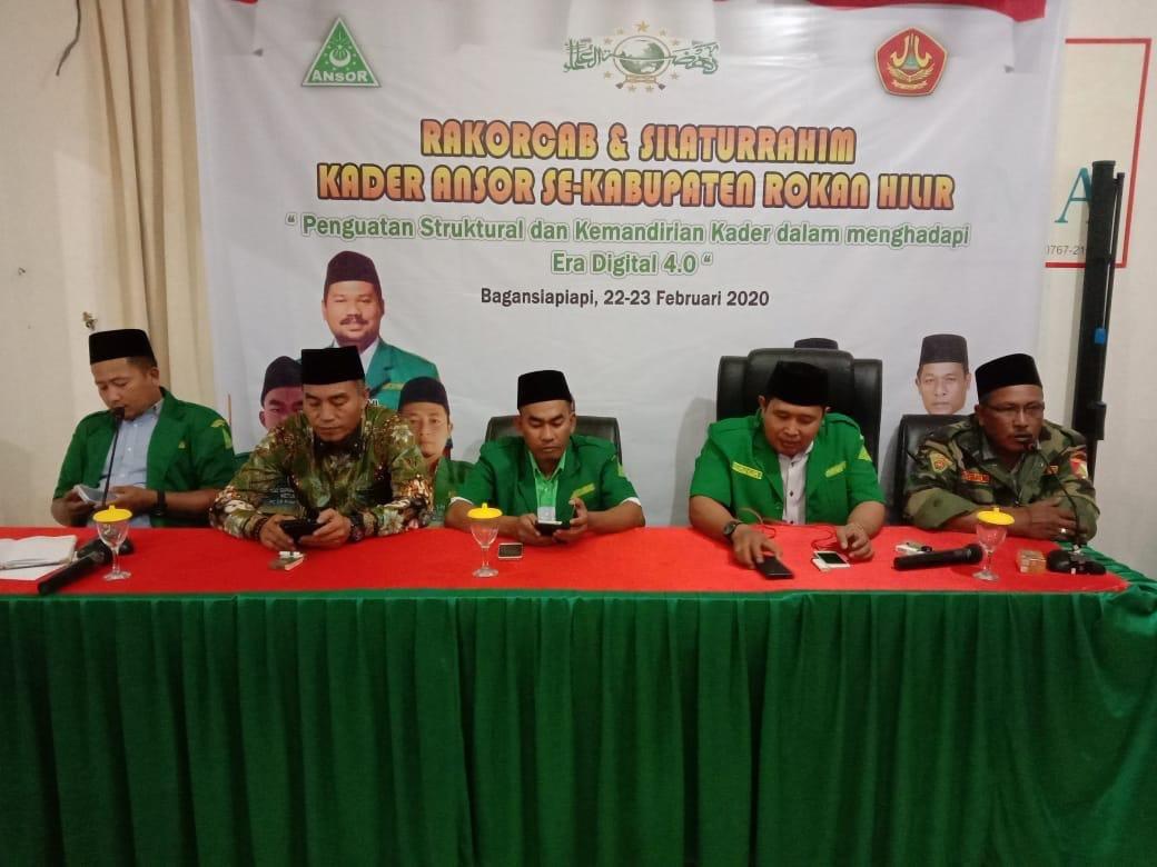 GP Ansor Rohil Tunda Dua Agenda Besar