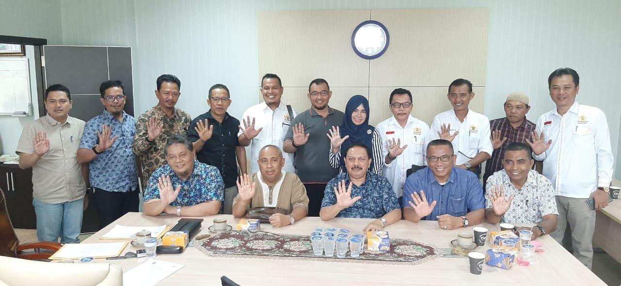 Jelang Misi Dagang ke Jawa Timur, Pemkab Inhil Gelar Rapat Persiapan dengan Dinas Terkait
