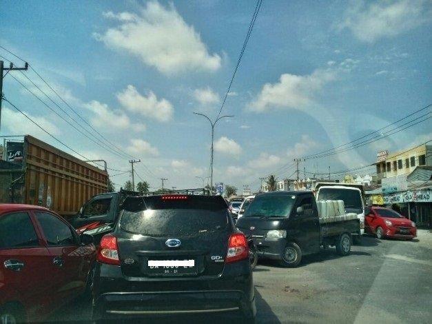 Pemprov Riau Berencana Bangun Fly Over   Simpang  Garuda Sakti-Kubang Panam