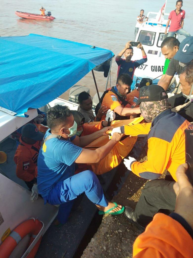 Dua Pelajar Tenggelam di Sungai Siak Ditemukan