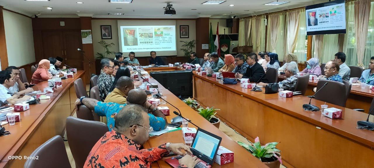 Bupati Meranti Minta Pemerintah Pusat Dorong Food Industry Sagu
