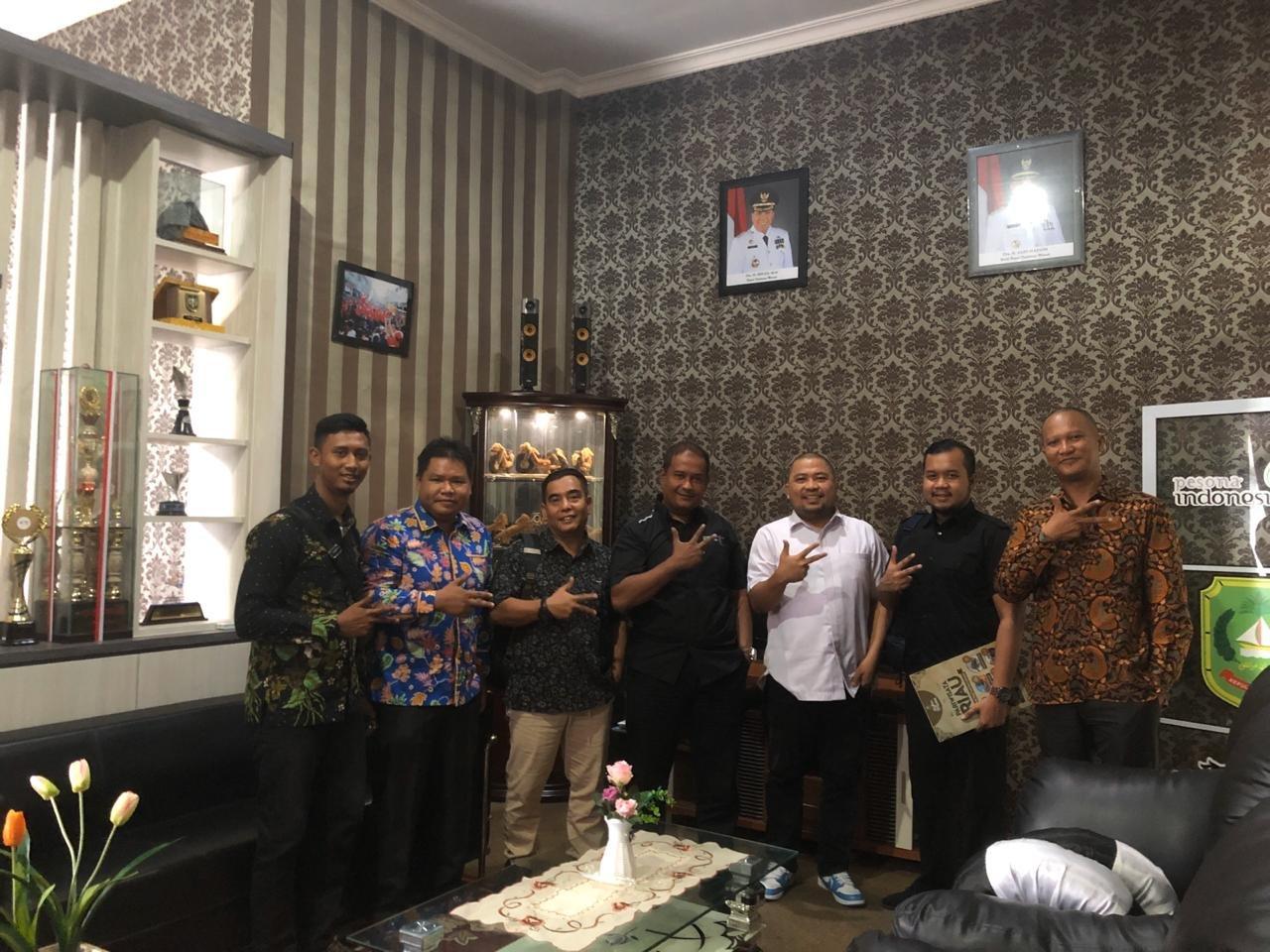 Dispar Riau dan BRCN Bertandang ke Meranti
