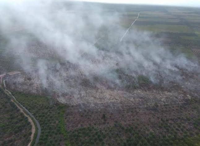 Hotspot Terpantau di Empat Daerah di Riau