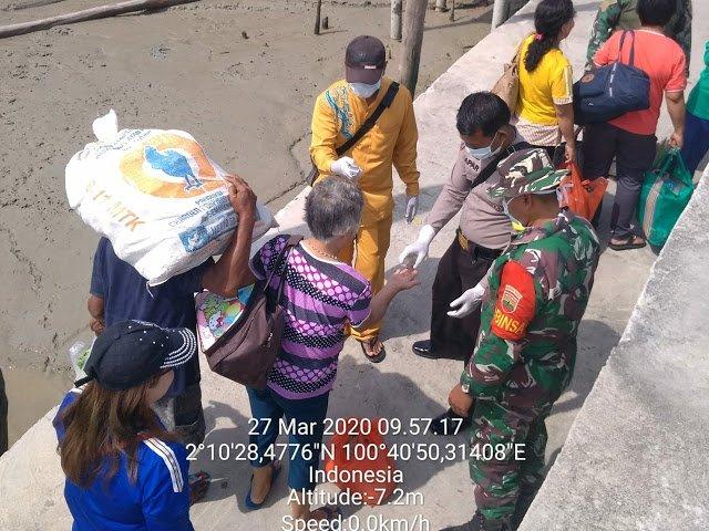 Putus Rantai Virus Corona, TNI-Polri dan Tim Medis Patroli Pelabuhan
