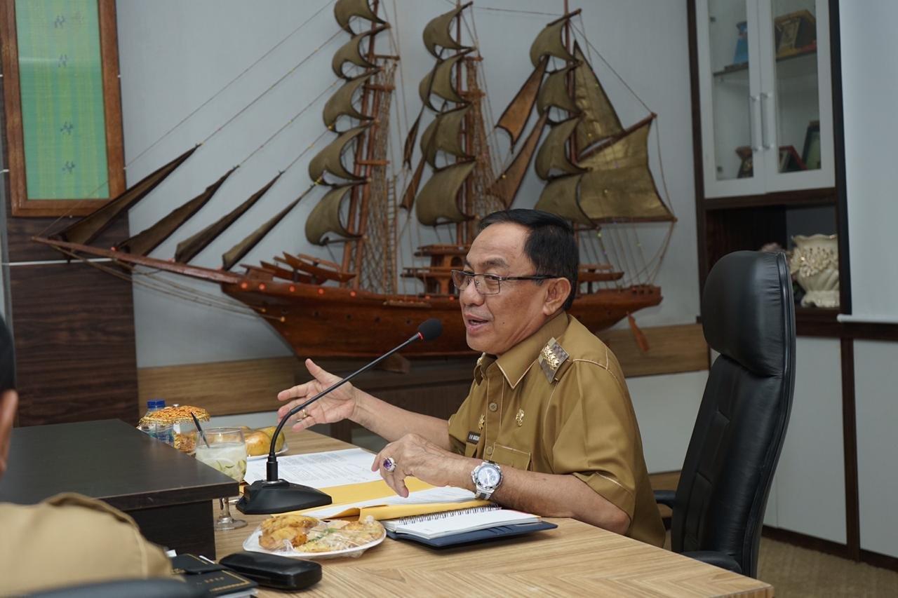 Bupati Inhil: Kepala OPD Tak Jalankan Program Sesuai Visi Misi, Siap-siap