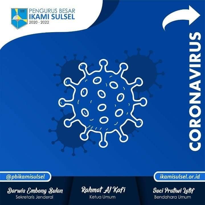PB Ikami Sulsel Himbau Anggotanya Cegah Penyebaran Virus Corona