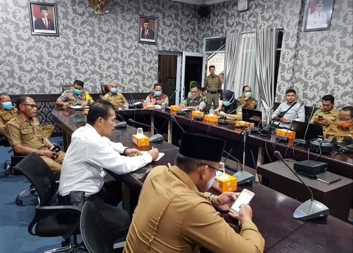 Ini Poin Penting Teleconference Gubernur dengan Kepala Daerah Se-Riau