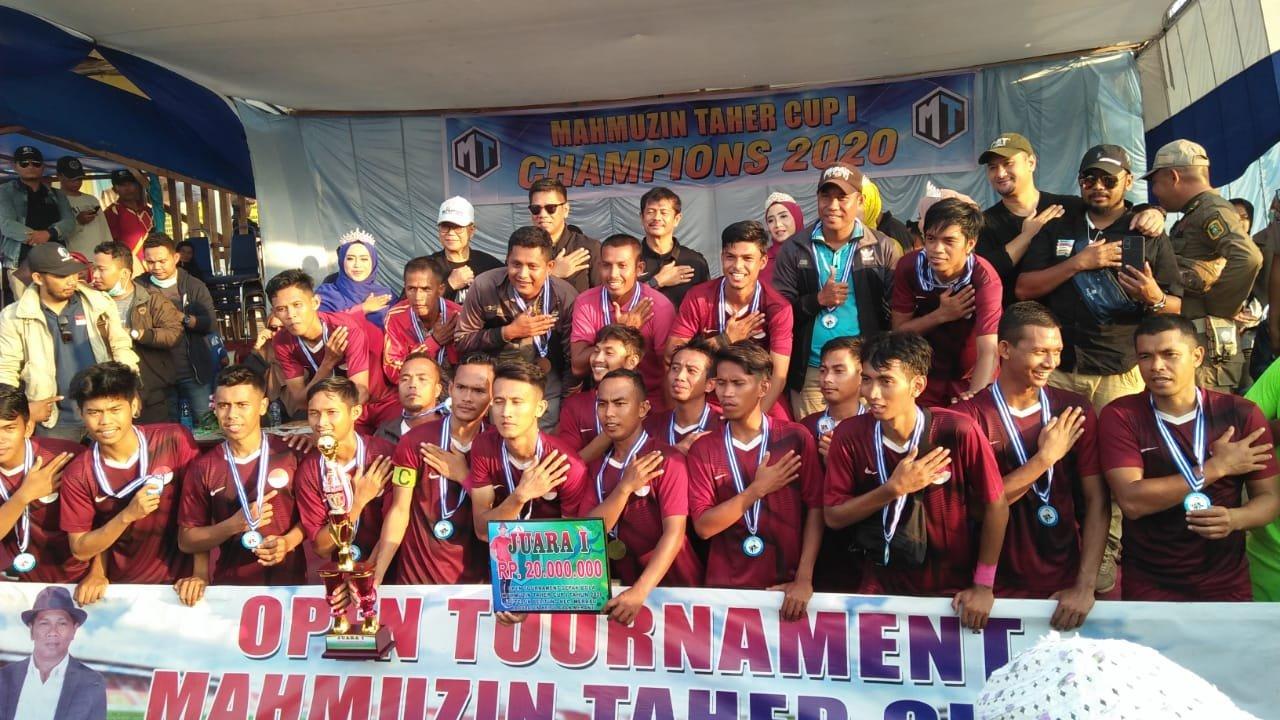 Hadir di Final Mahmuzin Taher Cup I  Meranti, Ini Kata Pelatih Timnas Indra Sjafri