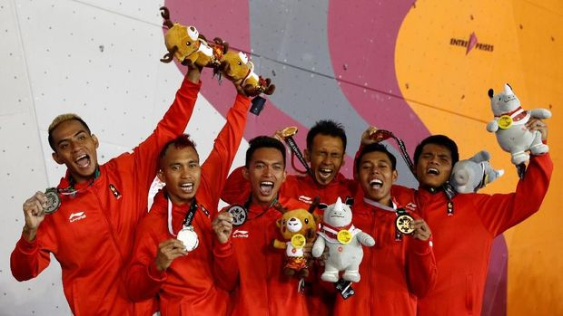 Alfian Muhammad Fajri Atlet Panjat Tebing Asal Indonesia Juara Dunia Di Perancis